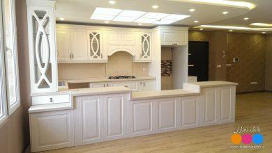 Photo of 5 مدل کابینت آشپزخانه ممبران ایرانی با رنگ سفید ساده