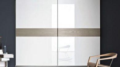 Photo of 4 مدل کمد دیواری با درب ریلی از جنس ام دی اف های گلاس