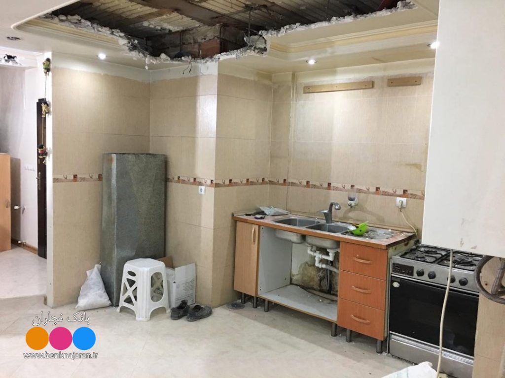 8 عکس از مراحل بازسازی آشپزخانه ایرانی 2