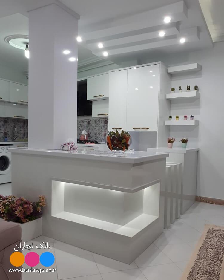 4عکس از آشپزخانه با کابینت مدرن 2
