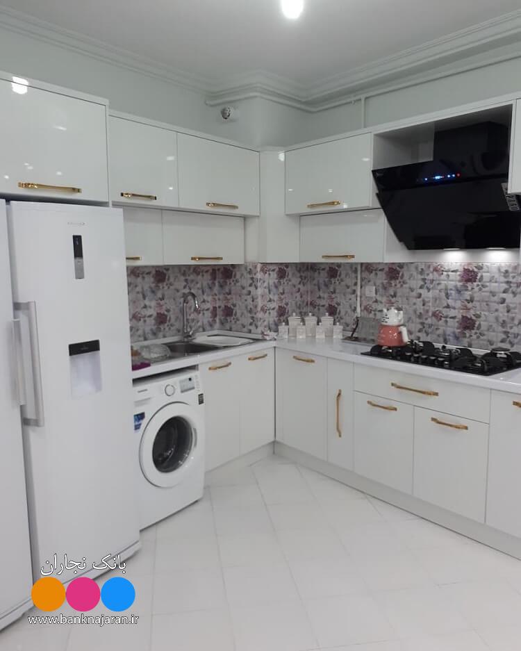 4عکس از آشپزخانه با کابینت مدرن 3