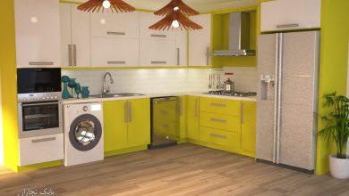 Photo of تاثیر رنگ ها در فضا با نمایش یک آشپزخانه در شش رنگ!