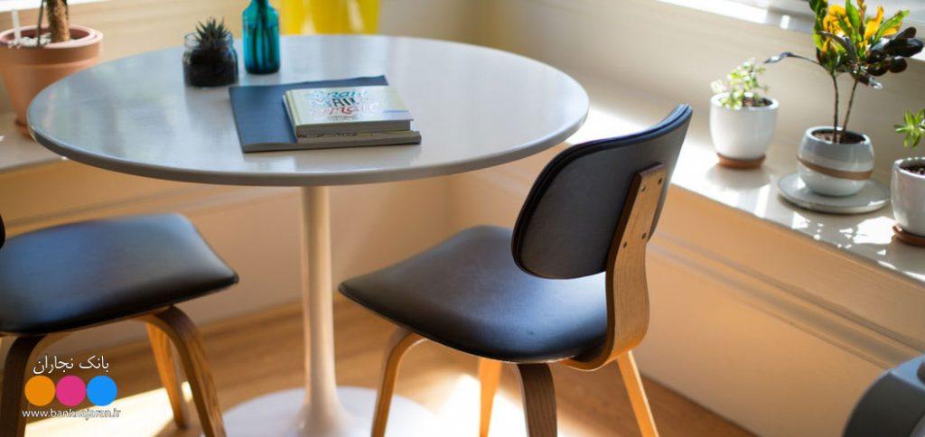 میز و صندلی مدرن