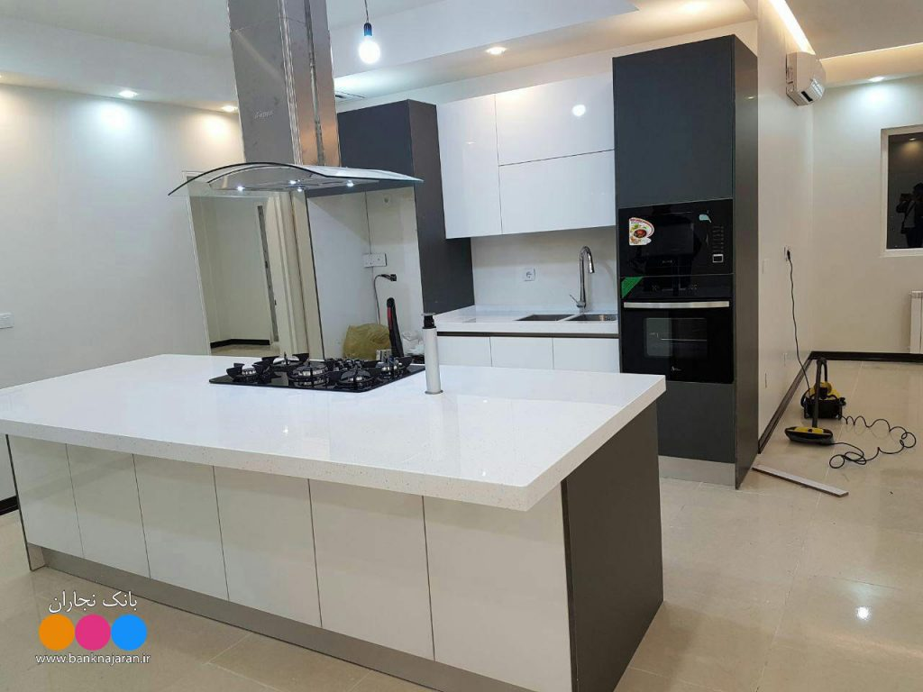 آشپزخانه ای مدرن با حداقل فضا 3