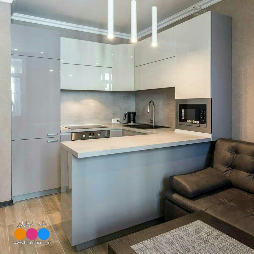 کابینت آشپزخانه کوچک اما همه فن حریف