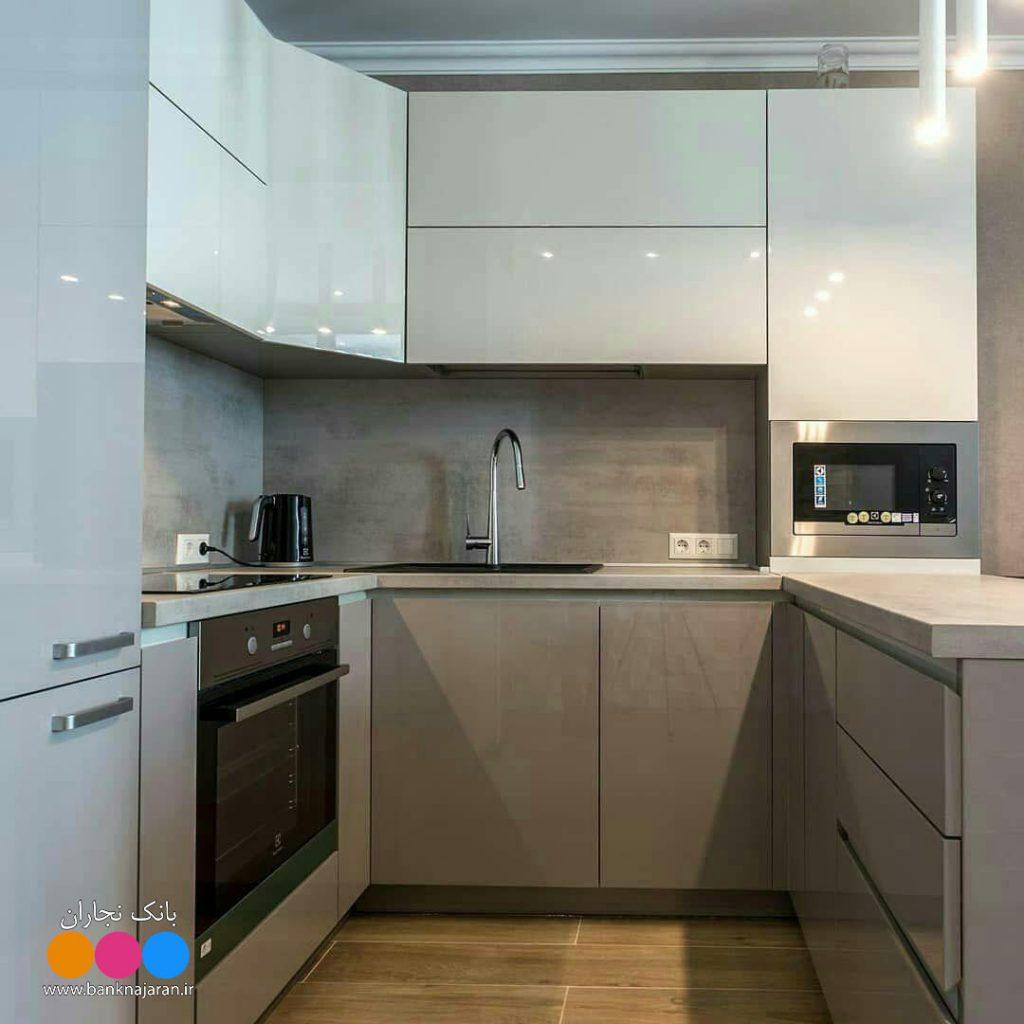 کابینت آشپزخانه کوچک اما همه فن حریف 3