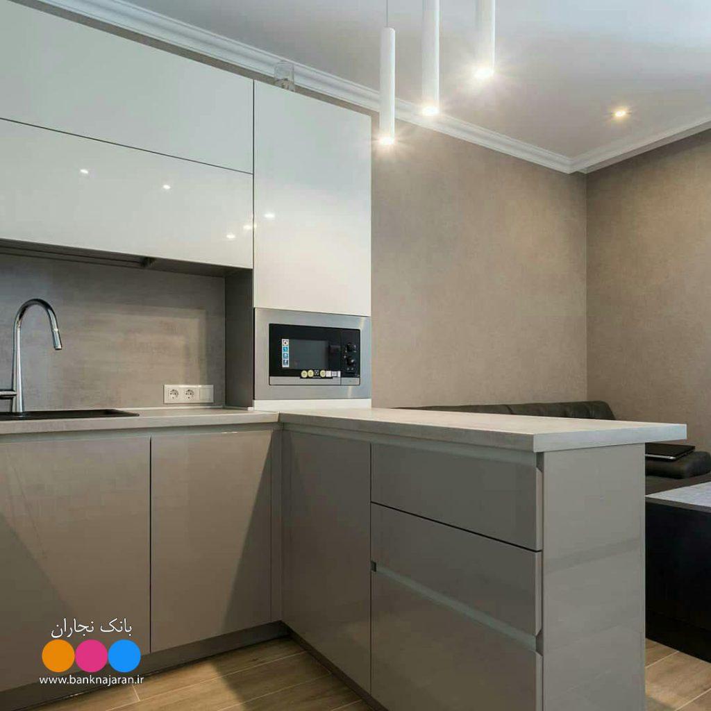 کابینت آشپزخانه کوچک اما همه فن حریف 2