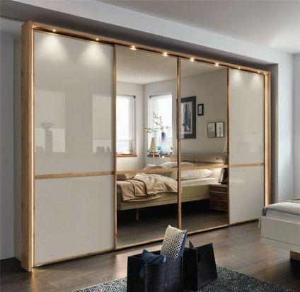 6 مدل کمد دیواری مدرن با آینه