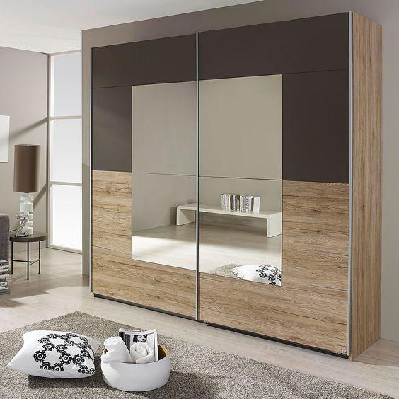 6 مدل کمد دیواری مدرن با آینه 4