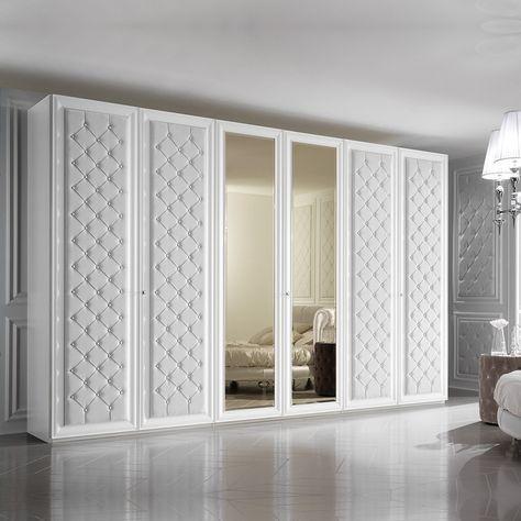 5 مدل کمد دیواری چوبی سفید جدید