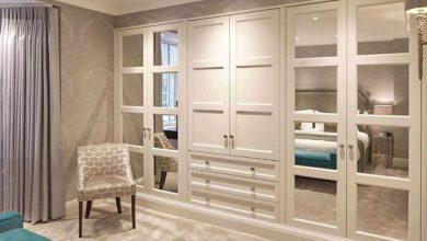 Photo of 5 مدل کمد دیواری چوبی سفید جدید با طراحی کلاسیک