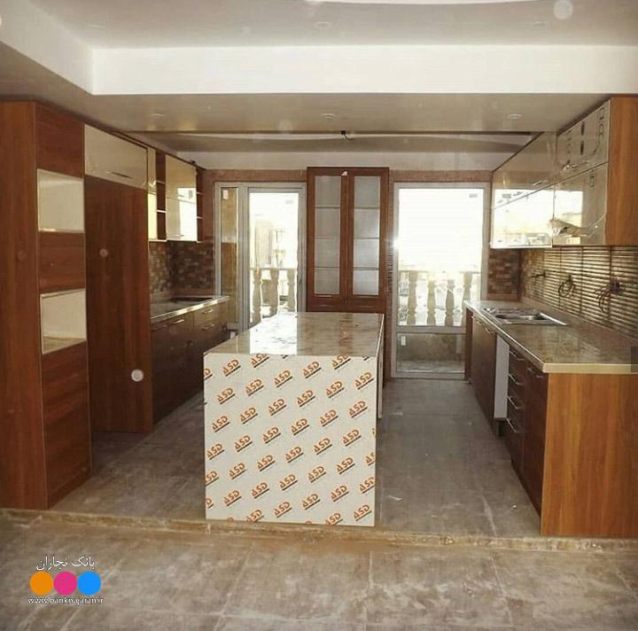 مراحل ساخت کابینت آشپزخانه مدرن ایرانی 4