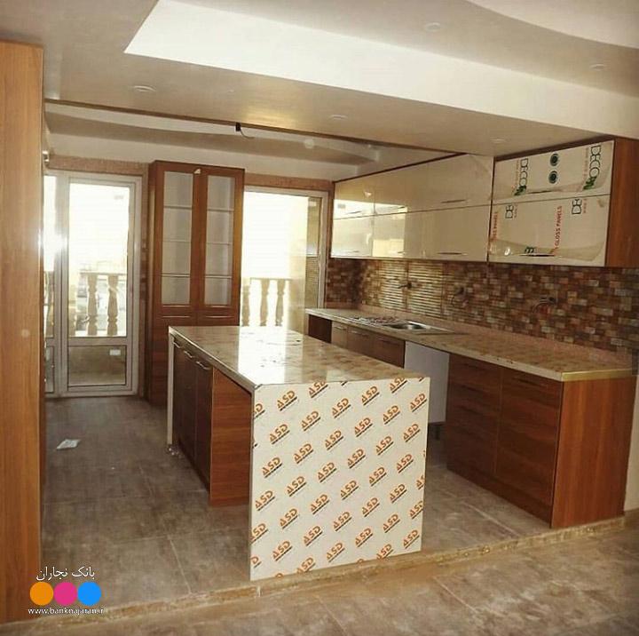 مراحل ساخت کابینت آشپزخانه مدرن ایرانی 5