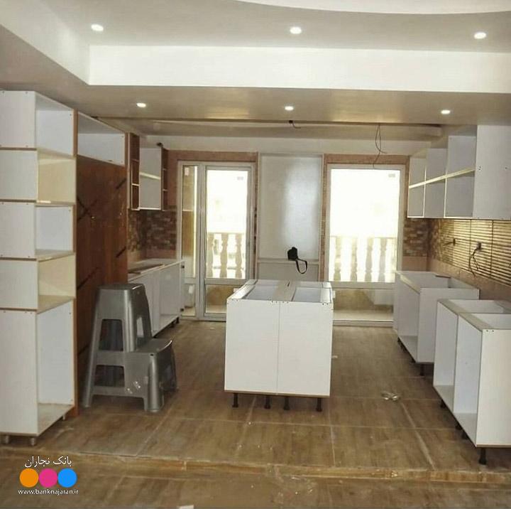 مراحل ساخت کابینت آشپزخانه مدرن ایرانی 2