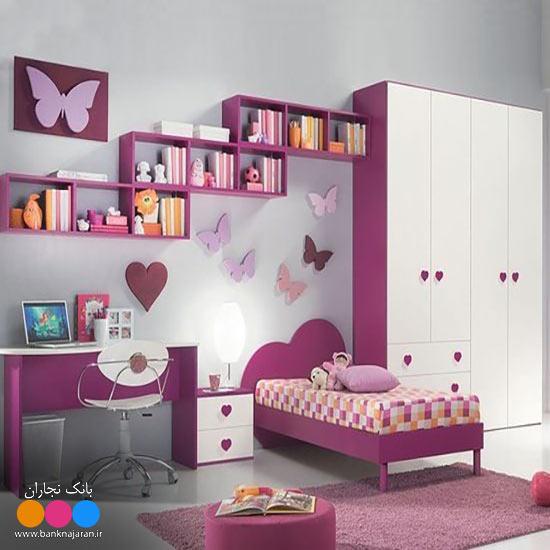 اتاق خواب کودک و نوجوان