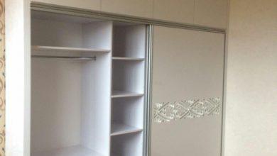 Photo of دو مدل کمد دیواری سفید های گلاس با دستگیره مخفی