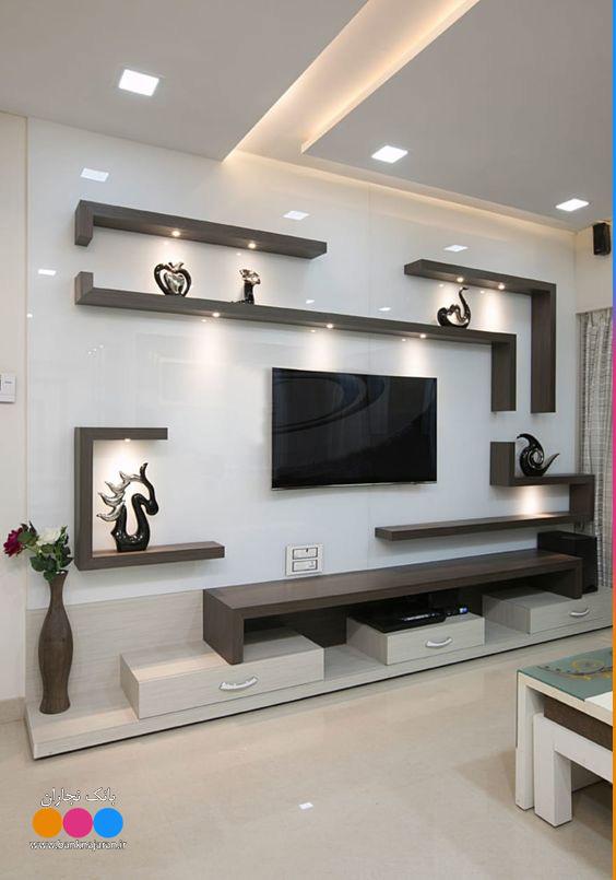 میر تلویزیون دیواری مدرن