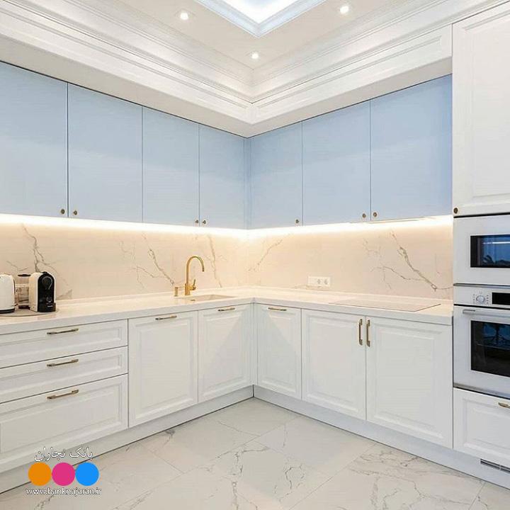 کابینت آشپزخانه نئوکلاسیک 3