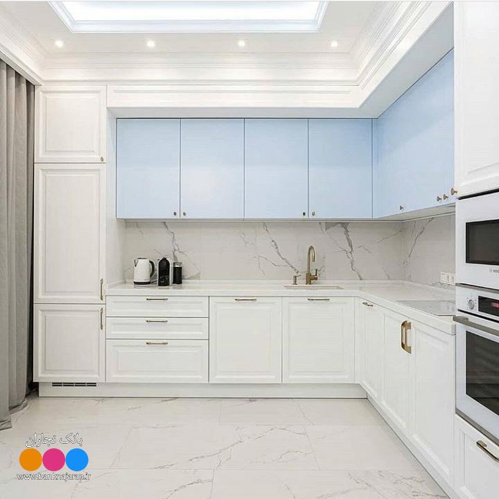 کابینت آشپزخانه نئوکلاسیک 2