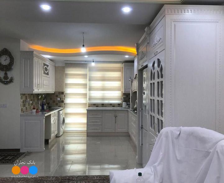 آشپزخانه ایرانی سفید ممبران