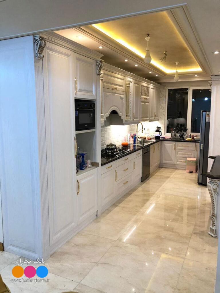 آشپزخانه ایرانی زیبا