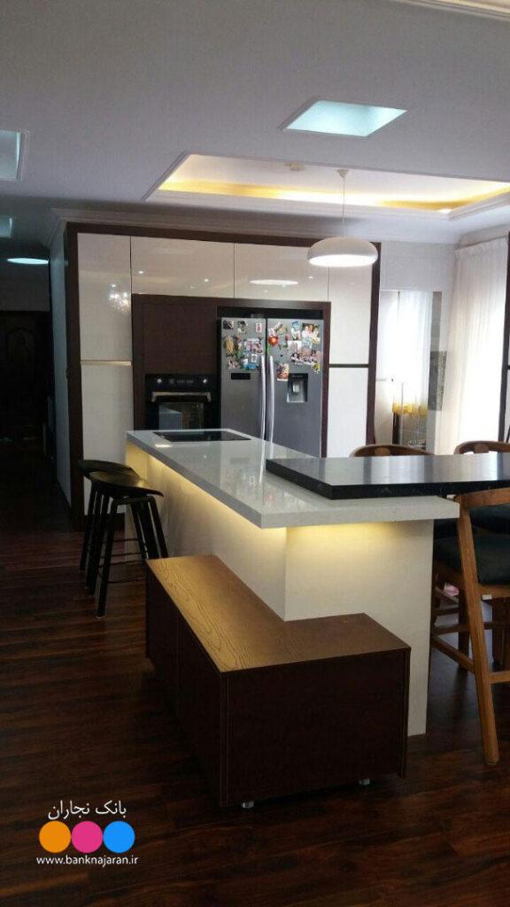 آشپزخانه لوکس مدرن