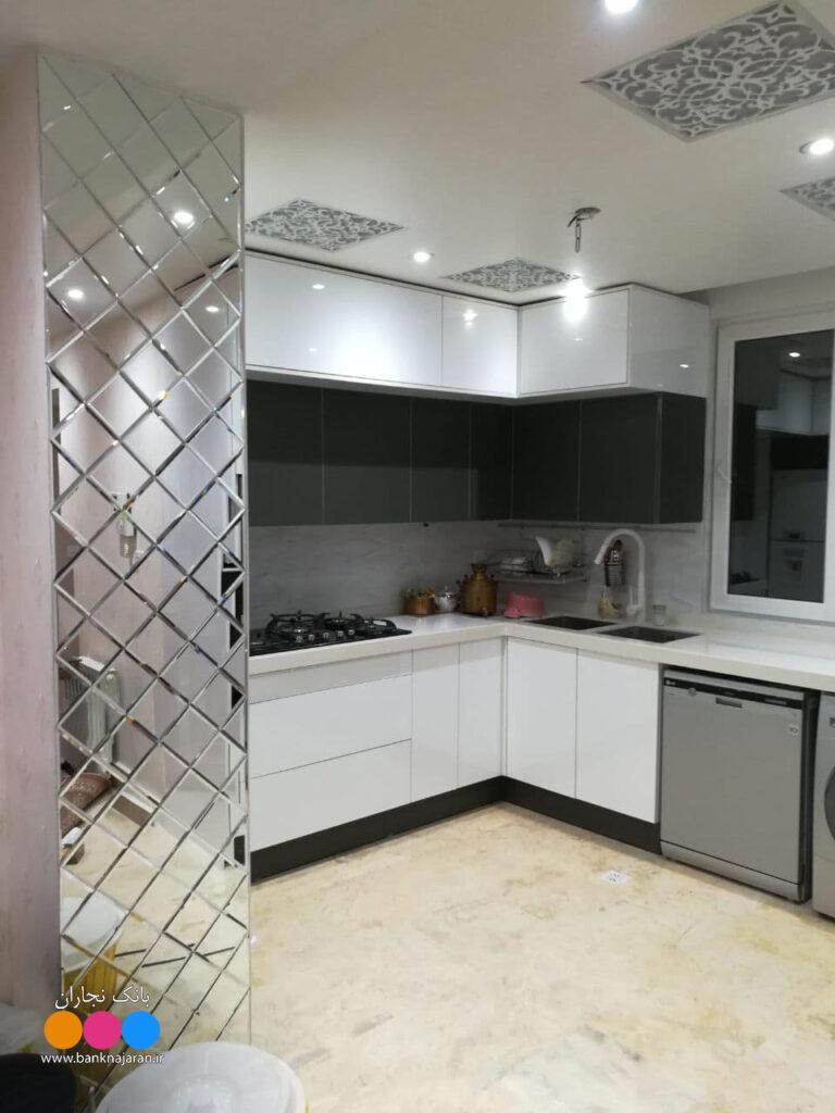 آشپزخانه مدرن های گلاس
