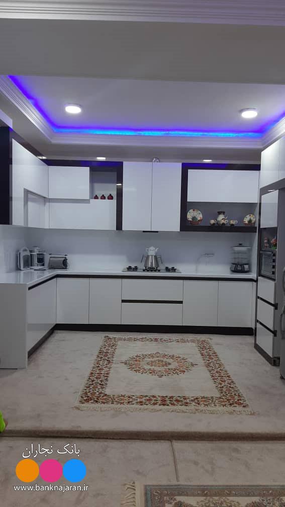 آشپزخانه نما مدرن در دو مدل 2