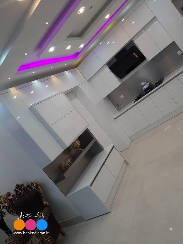 آشپزخانه نما مدرن در دو مدل 3