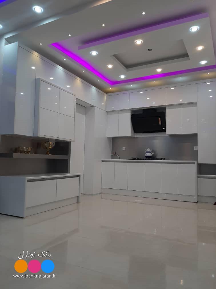 آشپزخانه نما مدرن در دو مدل 4