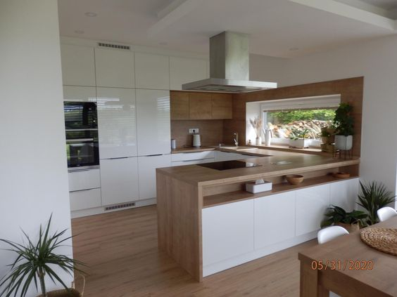 مدل آشپزخانه لمینت شده