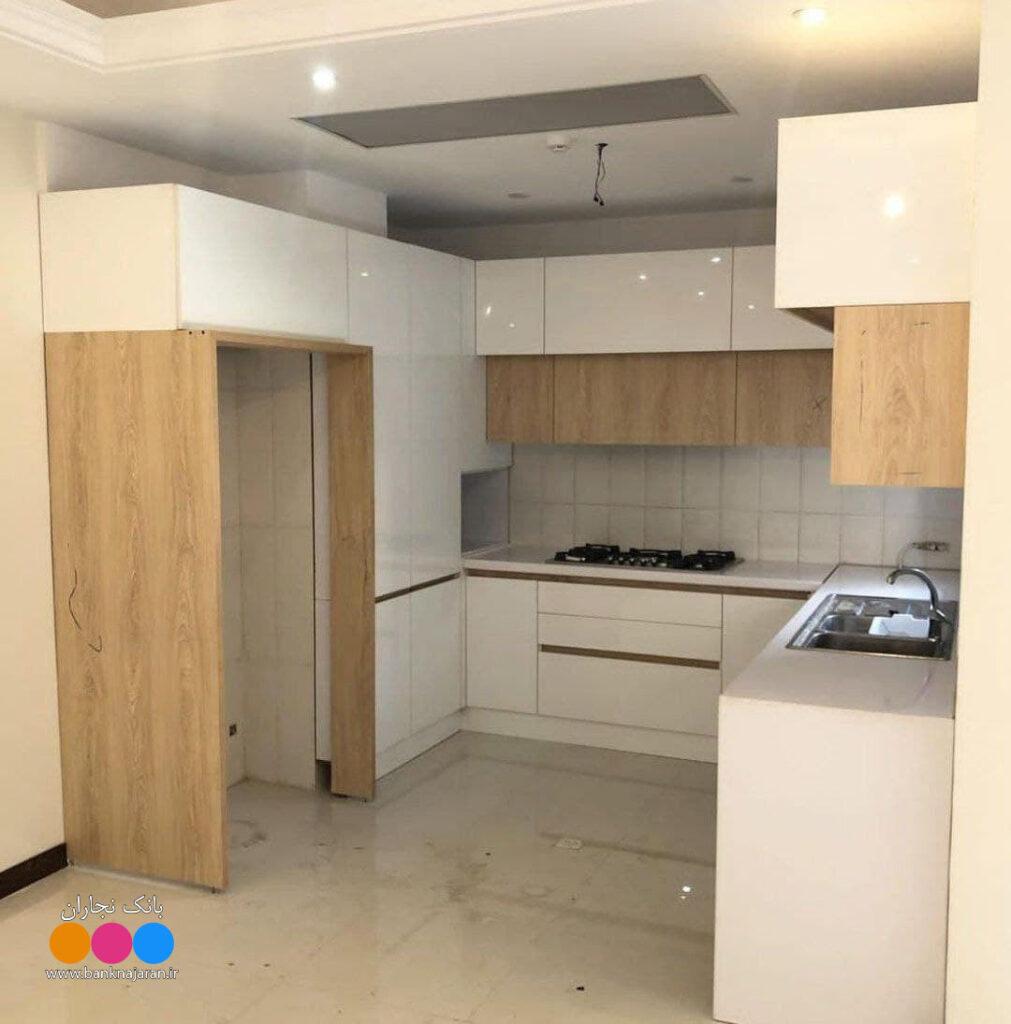 آشپزخانه سفید های گلاس 2