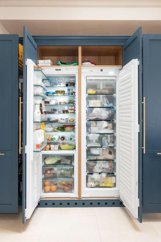 یخچال توی کابینت